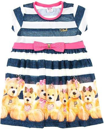 Pink Girl παιδικό φόρεμα