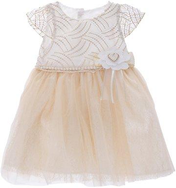 Blueberry s παιδικό αμπιγιέ φόρεμα