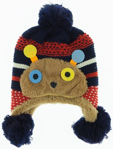 Prahar πλεκτό παιδικό σκουφί «Hey Cute» - Παιδικά ρούχα 0ad657850fa