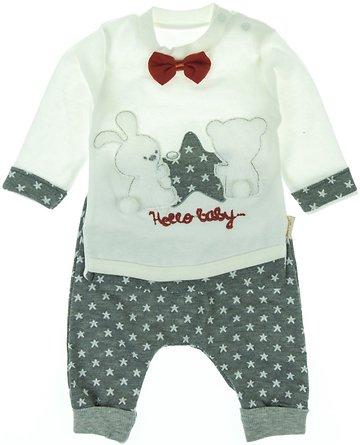 Babyim βρεφικό σετ μπλούζα-παντελόνι «Hello Baby» - Παιδικά ρούχα ... 53984835f7c