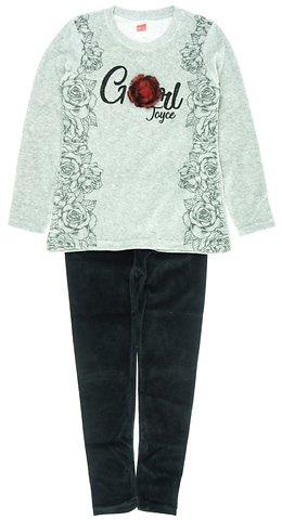Joyce παιδικό σετ μπλούζα-παντελόνι κολάν «Red Rose» - Παιδικά ρούχα ... 2e5e5d69d27