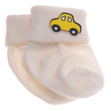 Pamily βρεφικές κάλτσες «Yellow Car» - Παιδικά ρούχα 45c65522783