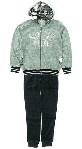 Εβίτα παιδικό σετ φόρμα ζακέτα-παντελόνι «Super Girl» - Παιδικά ρούχα 181952c393a