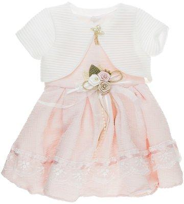 e503ad67801 GVN παιδικό αμπιγιέ φόρεμα & μπολερό
