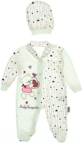 Juuta βρεφικό εποχιακό φορμάκι και σκουφάκι «Surprise» - Παιδικά ρούχα f51415942e1