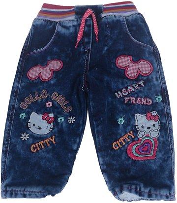 ΑΖ βρεφικό παντελόνι τζιν «Hello Girls» - Παιδικά ρούχα fd1ab2c1e14