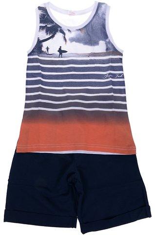 Joyce παιδικό σετ μπλούζα-παντελόνι βερμούδα «The Surfer» - Παιδικά ρούχα 58c9c61f59b