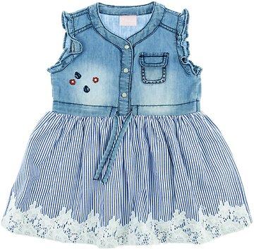 44fd7ffcfb2f Εβίτα παιδικό τζιν φόρεμα «Anchor Girl» - Παιδικά ρούχα