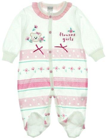 Bestido βρεφικό εποχιακό φορμάκι «Flower Pink Girls» - Παιδικά ρούχα ... ffeaefbe3e6