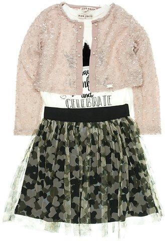 Εβίτα παιδικό σετ μπλούζα-φούστα-μπολερό «Celebrate» - Παιδικά ρούχα ... e2ac392e4b7
