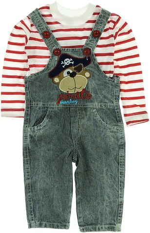 Latoldo βρεφικό σετ μπλούζα-σαλοπέτα «Red Pirate» - Παιδικά ρούχα ... 8775d38d7ae
