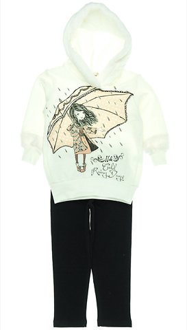 8e82cec6252 ΝΕΚ παιδικό εποχιακό σετ φόρμα μπλούζα-παντελόνι «Umbrella Girls ...