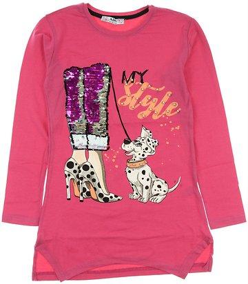 ARS παιδικό εποχιακό μπλουζοφόρεμα «Pink Style» - Παιδικά ρούχα ... 2eb1dff652f