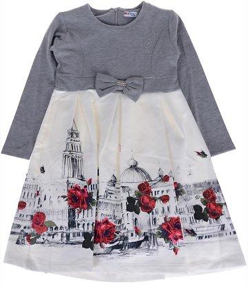 f858fc833050 Εβίτα παιδικό φόρεμα «Roses In The City» - Παιδικά ρούχα