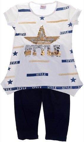 Mooly παιδικό σετ μπλούζα-παντελόνι κολάν