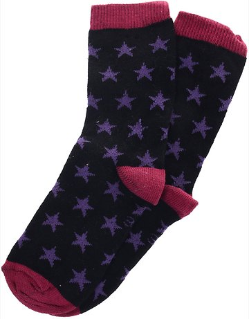 Gundem παιδικές κάλτσες «Purple Stars» - Παιδικά ρούχα c119ae9af49