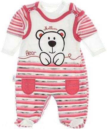 eafc878ec65 Million βρεφικό εποχιακό σετ φορμάκι-κορμάκι «Pink Bear» - Παιδικά ρούχα,  βρεφικά ενδύματα, λευκά είδη για παιδιά AZshop.gr