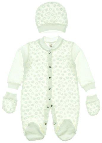 Baby C βρεφικό εποχιακό φορμάκι-σκουφάκι-γαντάκια «Tulle» - Παιδικά ρούχα a09c69d543e