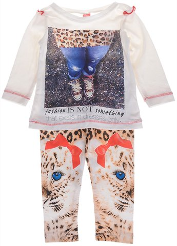Joyce παιδικό εποχιακό σετ μπλούζα-παντελόνι «Not Only Dresses» - Παιδικά  ρούχα 9fc82314fc9