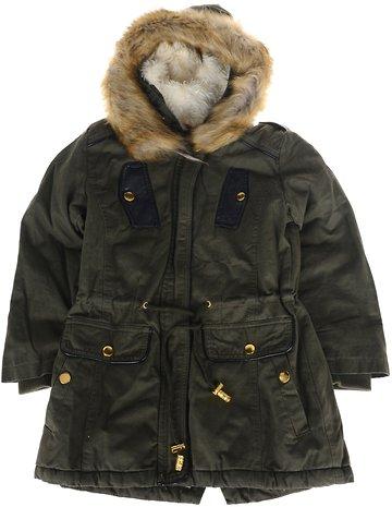Εβίτα παιδικό μπουφάν μακρύ (παρκά) «Green Winter» - Παιδικά ρούχα ... e60a0171947