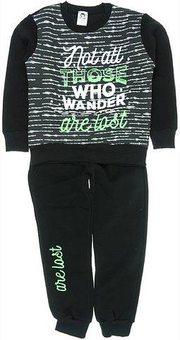 Go Jo παιδικό σετ φόρμα μπλούζα-παντελόνι «Black Wisdom» - Παιδικά ρούχα 0904897d678