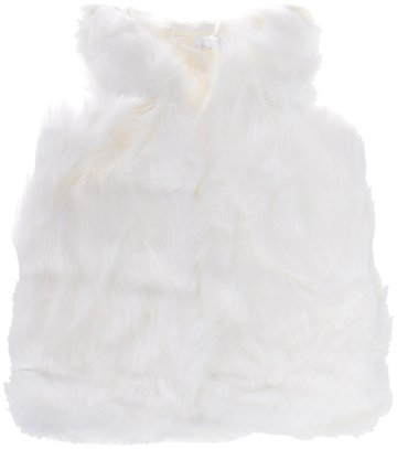 JNS παιδικό γούνινο αμάνικο παλτό «Wintry Weather» - Παιδικά ρούχα ... 7acf48b0fca