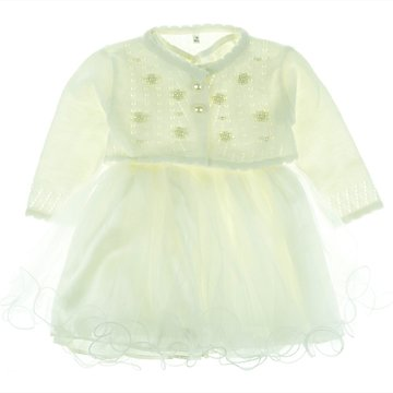 Bebellion παιδικό αμπιγιέ φόρεμα   ζακέτα μπολερό «Flower» - Παιδικά ρούχα 73233f415d2