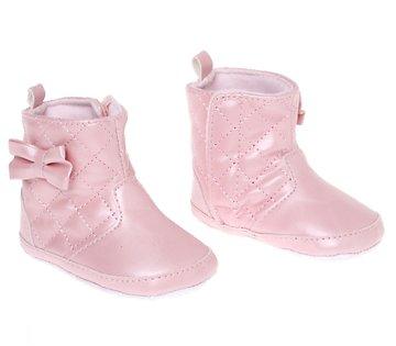 Rock a Bye Baby βρεφικά μποτάκια αγκαλιάς «Puny Bow» - Παιδικά ρούχα ... ed6b93857c1