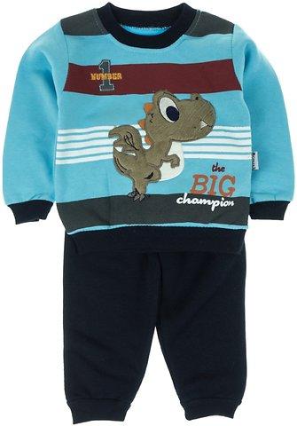 Eymus βρεφικό σετ φόρμα μπλούζα-παντελόνι «Blue Dragon» - Παιδικά ρούχα d0b5922270f