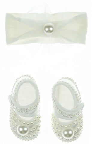 f3d3e156216 Eto βρεφικά παπουτσάκια αγκαλιάς & κορδέλα μαλλιών «Strass & Pearls» -  Παιδικά ρούχα, βρεφικά ενδύματα, λευκά είδη για παιδιά AZshop.gr